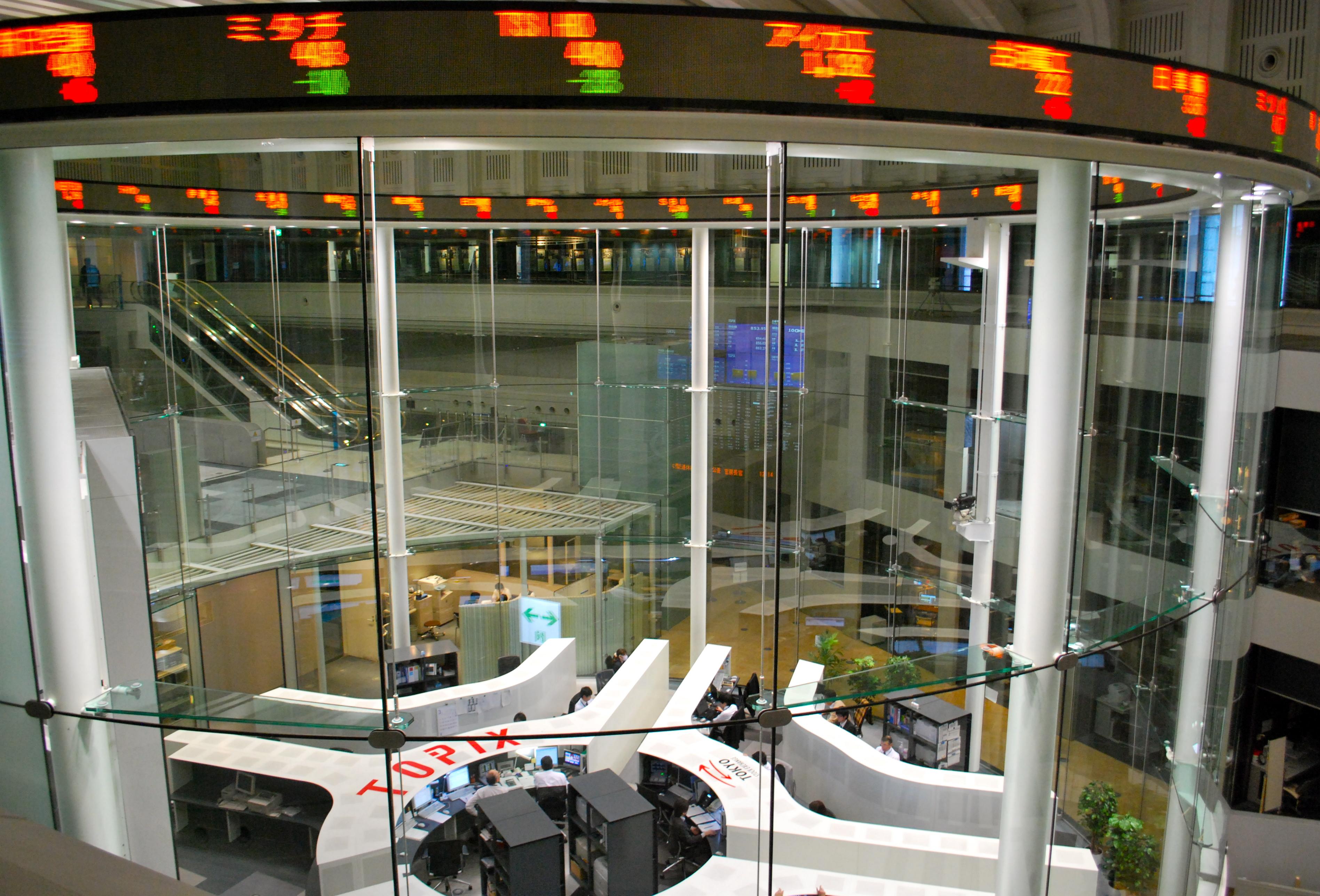 Tokyo Stock Exchange Tokyo Japan Journey For 4